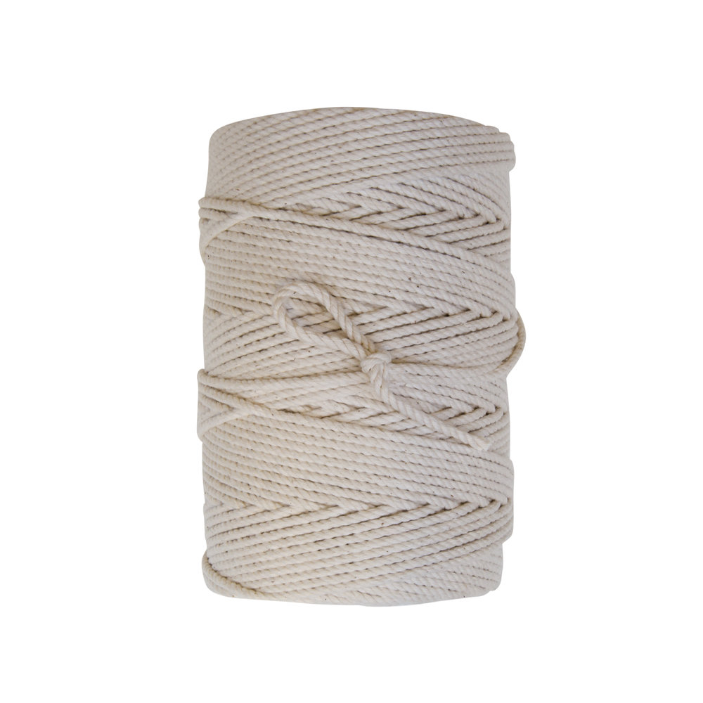 Twisted Cotton Twine - 100% cotton twisted twine in convenient put-ups.