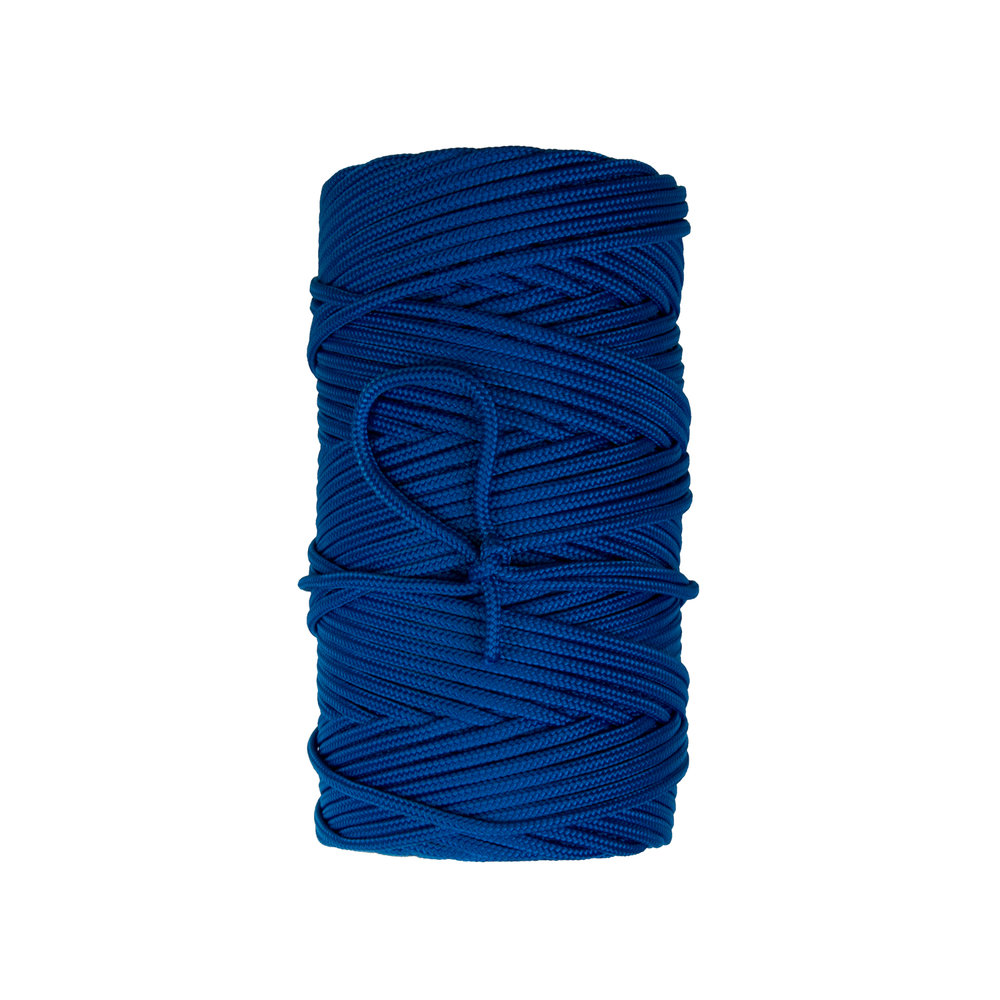 Braided MFP - Manufactured with permanent color multi-filament polypropylene fibers. Lightweight, floating line with a 16 carrier construction round braid construction. Ideal for identification markers, hobby, or recreational applications. Popular sizes are listed below but other sizes are available on special request.