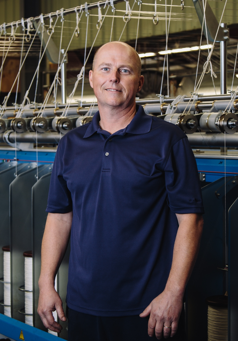 Chris Berg - Production Manager - Chris is another of our long tenured employees that has been with us for over 30 years. Over that time he has accumulated a deep knowledge of various rope constructions, fiber characteristics, and the fabrication abilities of our plant. We rely on Chris to keep our general production running and to provide his expertise in new product developments and improvements. Chris is an avid outdoorsman and you can often find him coaching or attending his daughter's softball games.