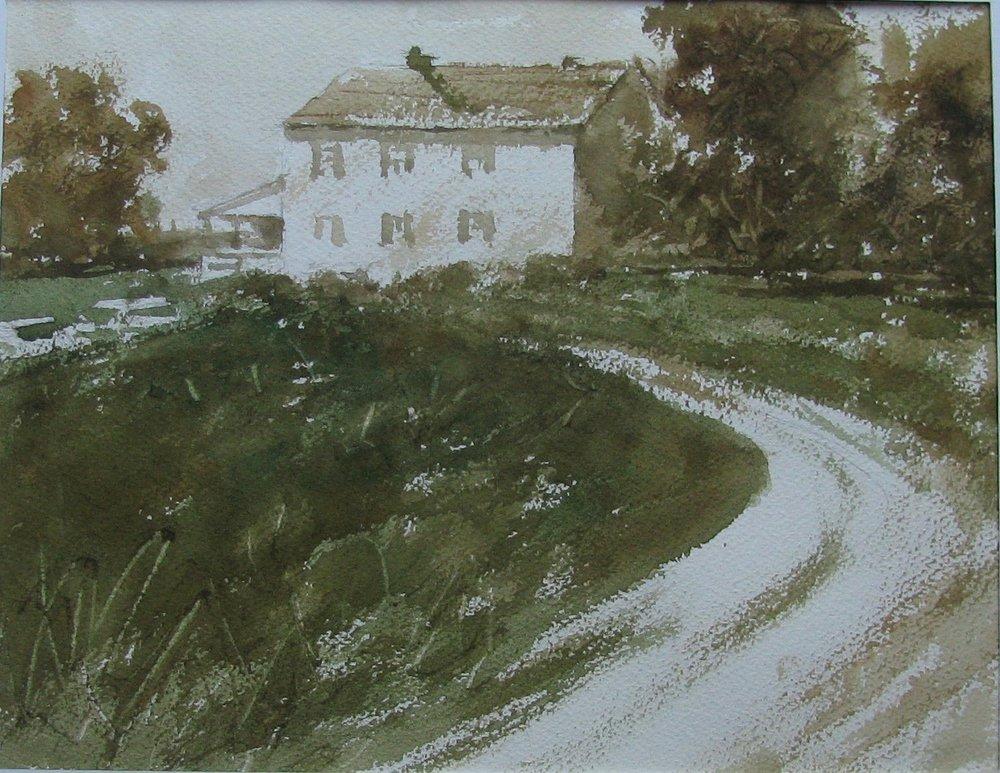"Ray Nixon  ""Farm House"""