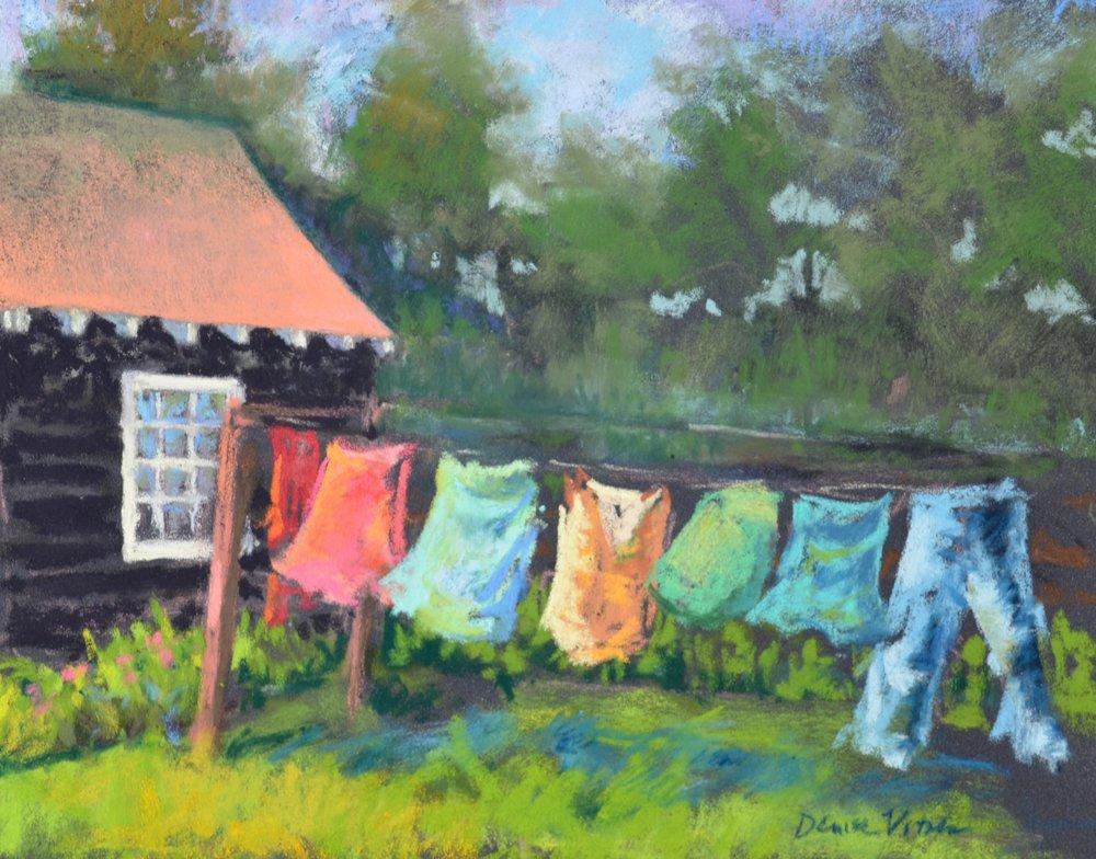 "Denise Vitollo   ""Laundry Day"""