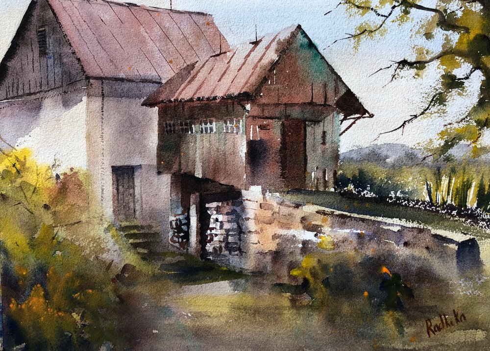 "Radhika Srinivas  ""The Barn at Honker Hill"""