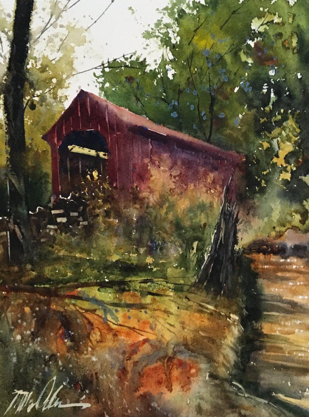"Mick McAndrews   ""The Laurel's Covered Bridge"""