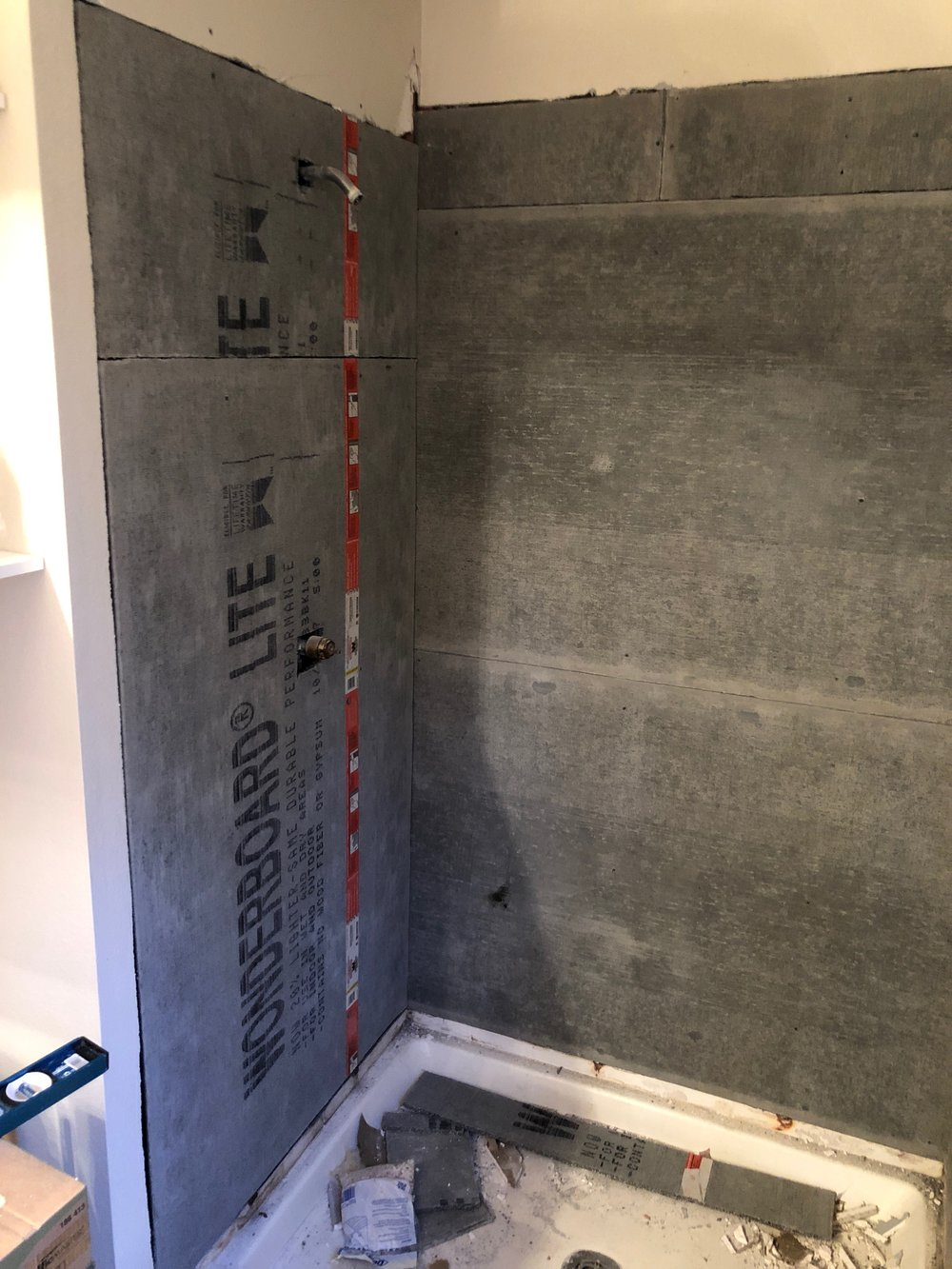 Shower Remodel 3