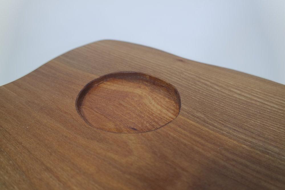 Elm Serving Platter with Green Leaf Bowl (5).JPG