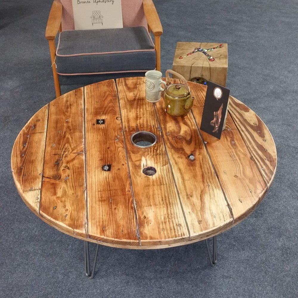 The Cable Reel Coffee table