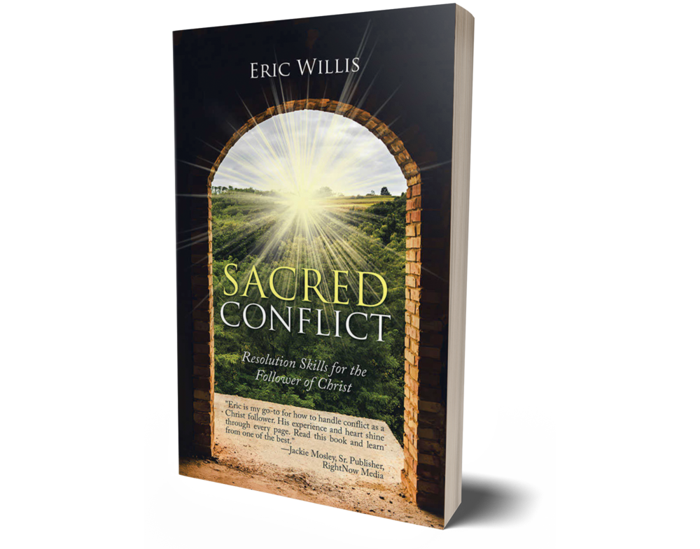 - Eric is my go-to for how to handle conflict as a Christ follower. His experience and heart shine through every page. Read this book and learn from one of the best. - Jackie Mosley, Sr. Publisher, RightNow Media