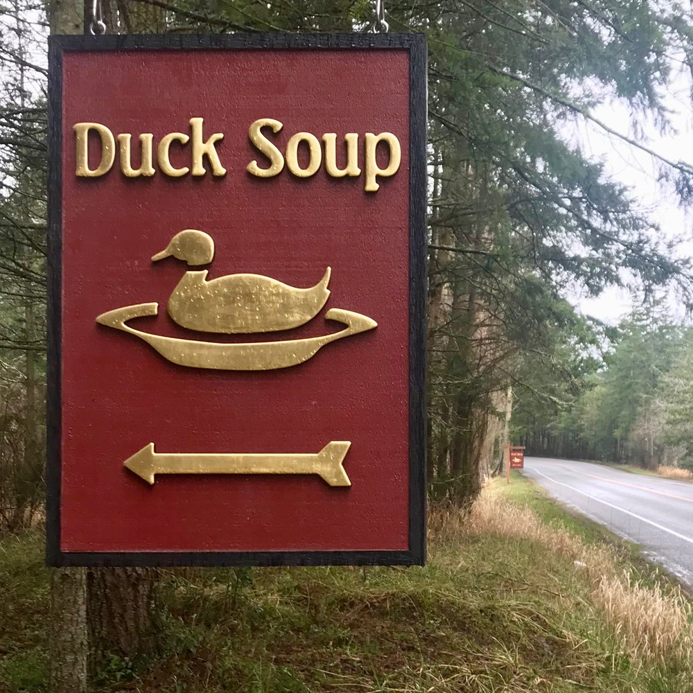 Duck Soup Sign