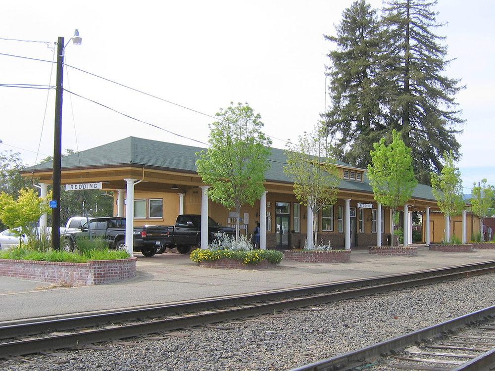 Redding Train Station Roof installation