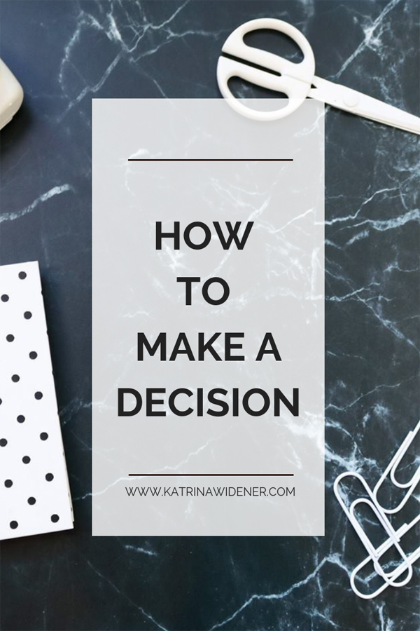 decision making formula