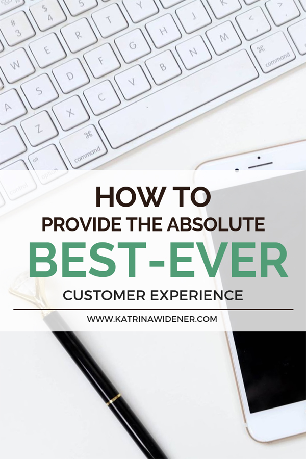 customer experience is the key to a successful business