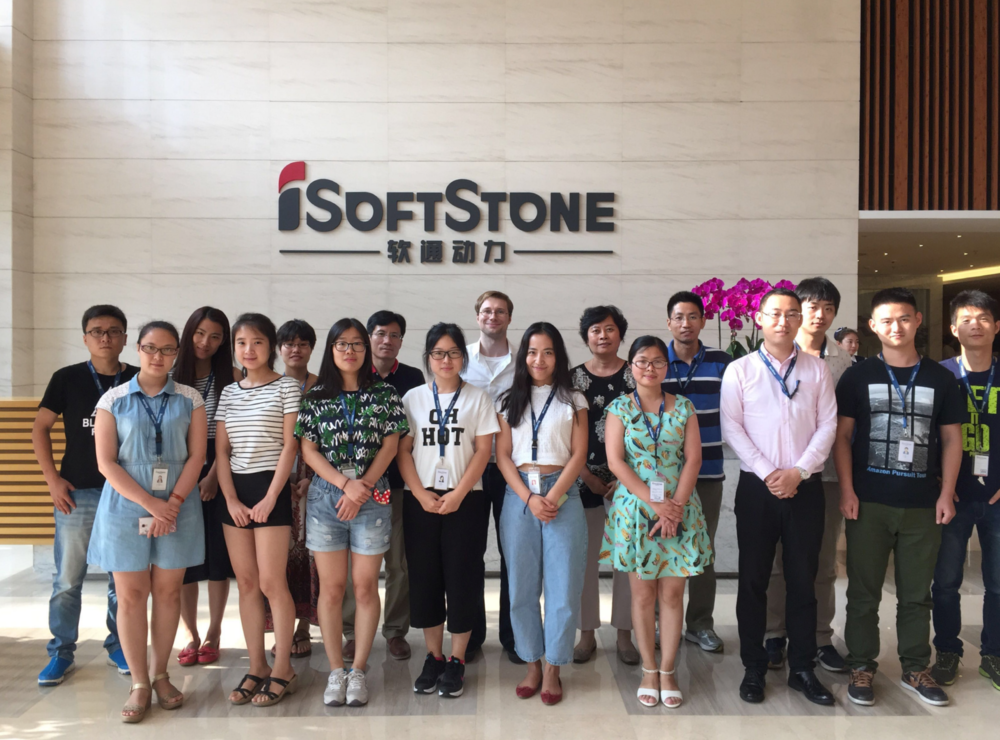 "iSoftStone collaboration - Ira teaches a development team in china how to integrate intervention simulation tools for their ""cityfusion"" platform"