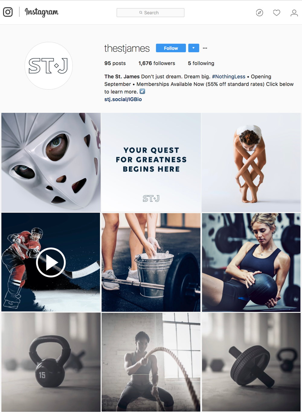 OUR IG ENGAGEMENT IS 6X THAT OF ESTABLISHED COMPETITORS. -