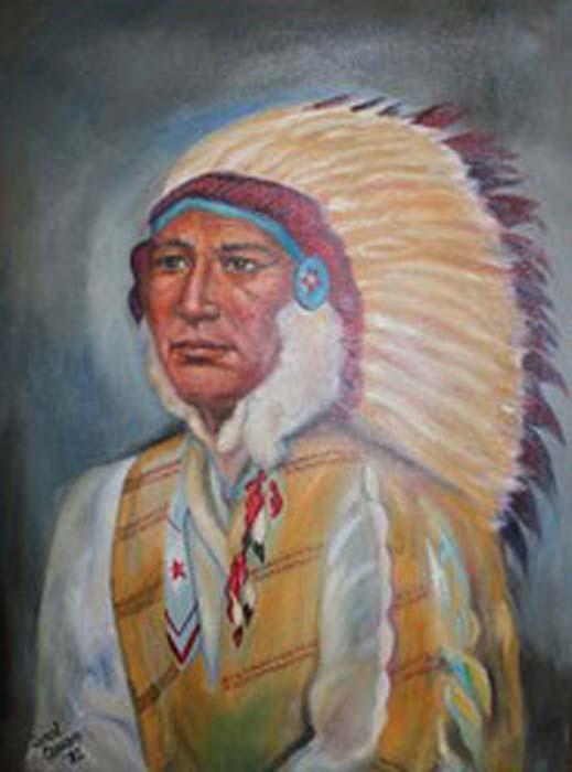 Carol Ceraso -Chief White Cloud - Oil.jpg
