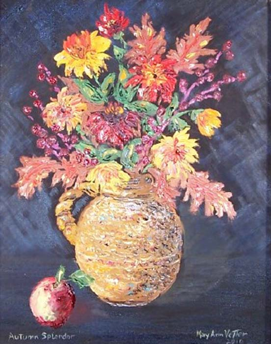 Autumn Splendor - Oil-18x24