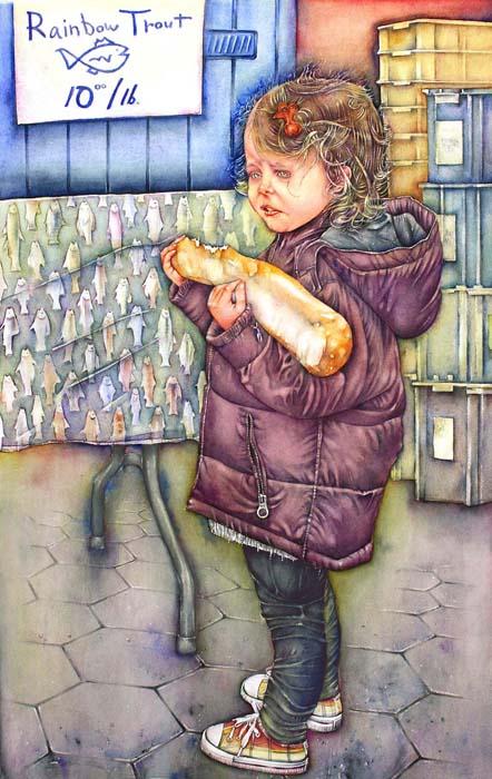David Jaycox Jr.-Assimilation-Watercolor