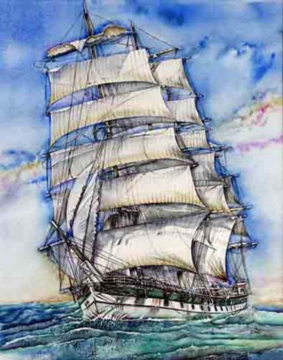 Jaycox Jr, David - Thessalus Cuts Through the Sea