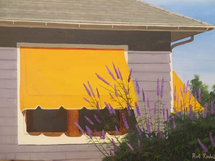 Ocean Beach Cottage - Oil - 12X16