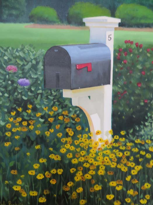 Strong's Neck Mailbox
