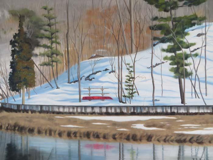 Snow in West Meadow Creek