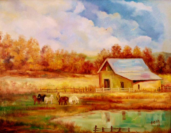 Spring Valley Morning - Oil - 22 x 28.jpg
