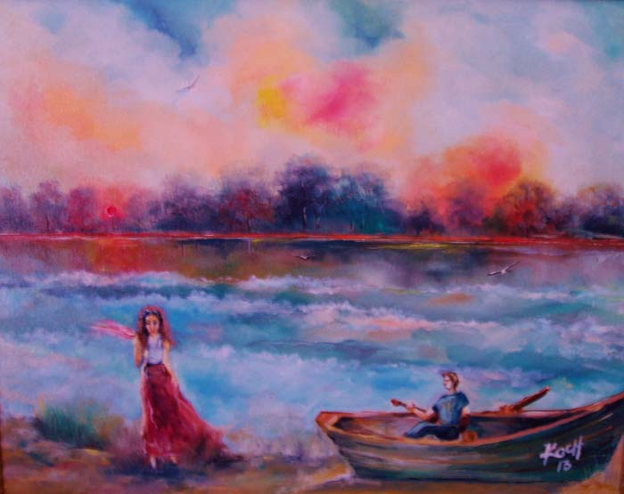 Sunset Melody - Oil - 16 x 20.jpg