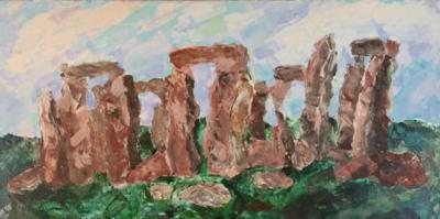 Stonehenge 1985- Acrylic