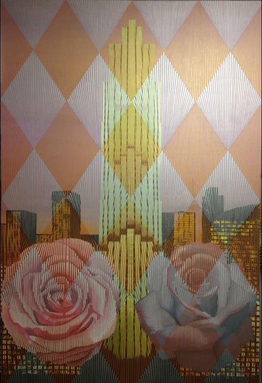 "Rock Center – Oil on Canvas 40"" x 60"" by Don Weber.JPG"