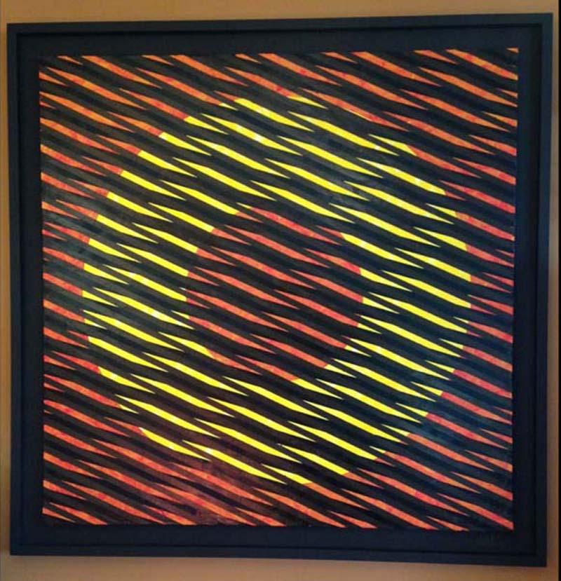 """First Sun"", Oil on Canvas 41"" x 41"" by Don Weber.jpg"