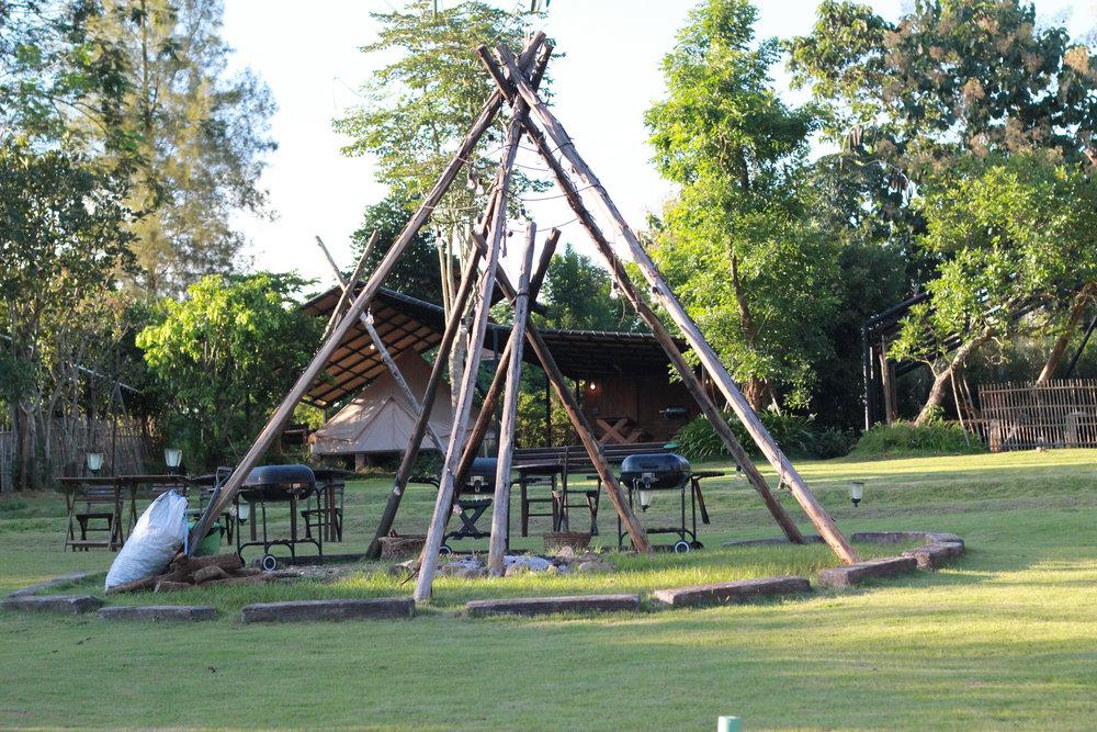 營地最矚目的營火場!