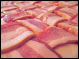 Bacon weaved goodness