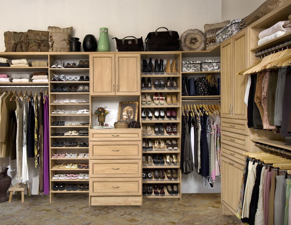 Walk-In Closets -