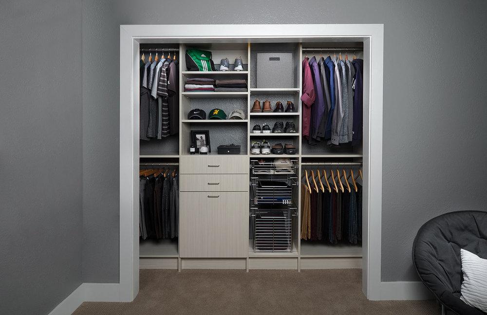 Reach-In Closets -