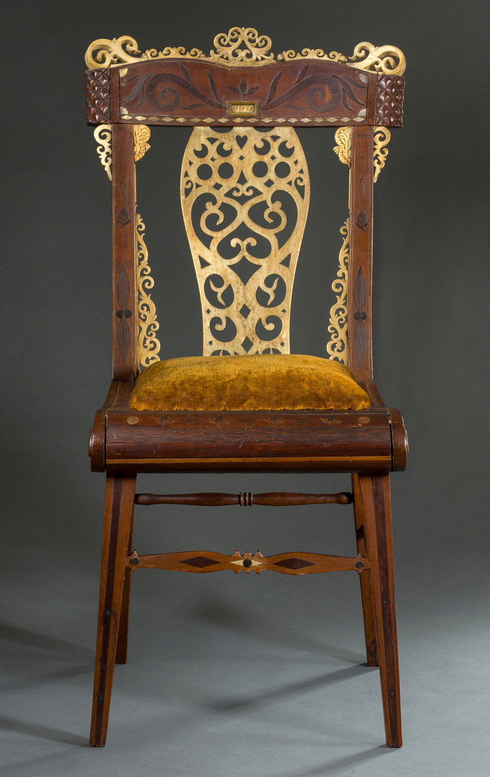 Child's Chair, New Bedford, MA, ca. 1835