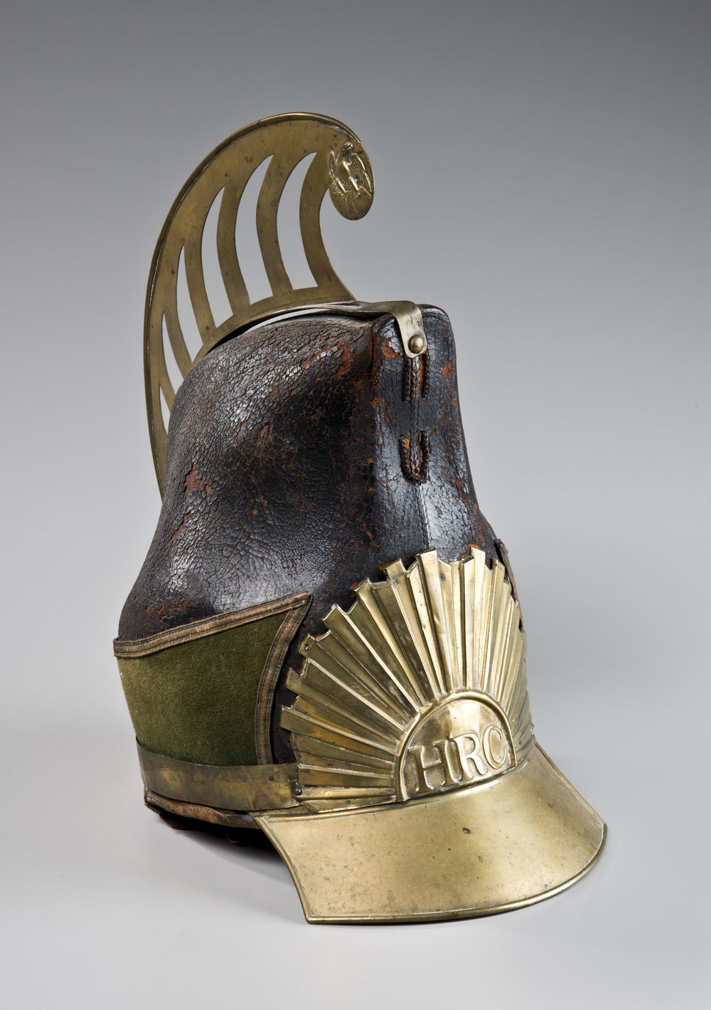 Militia Helmet, Hingham Rifle Company, MA, ca. 1840
