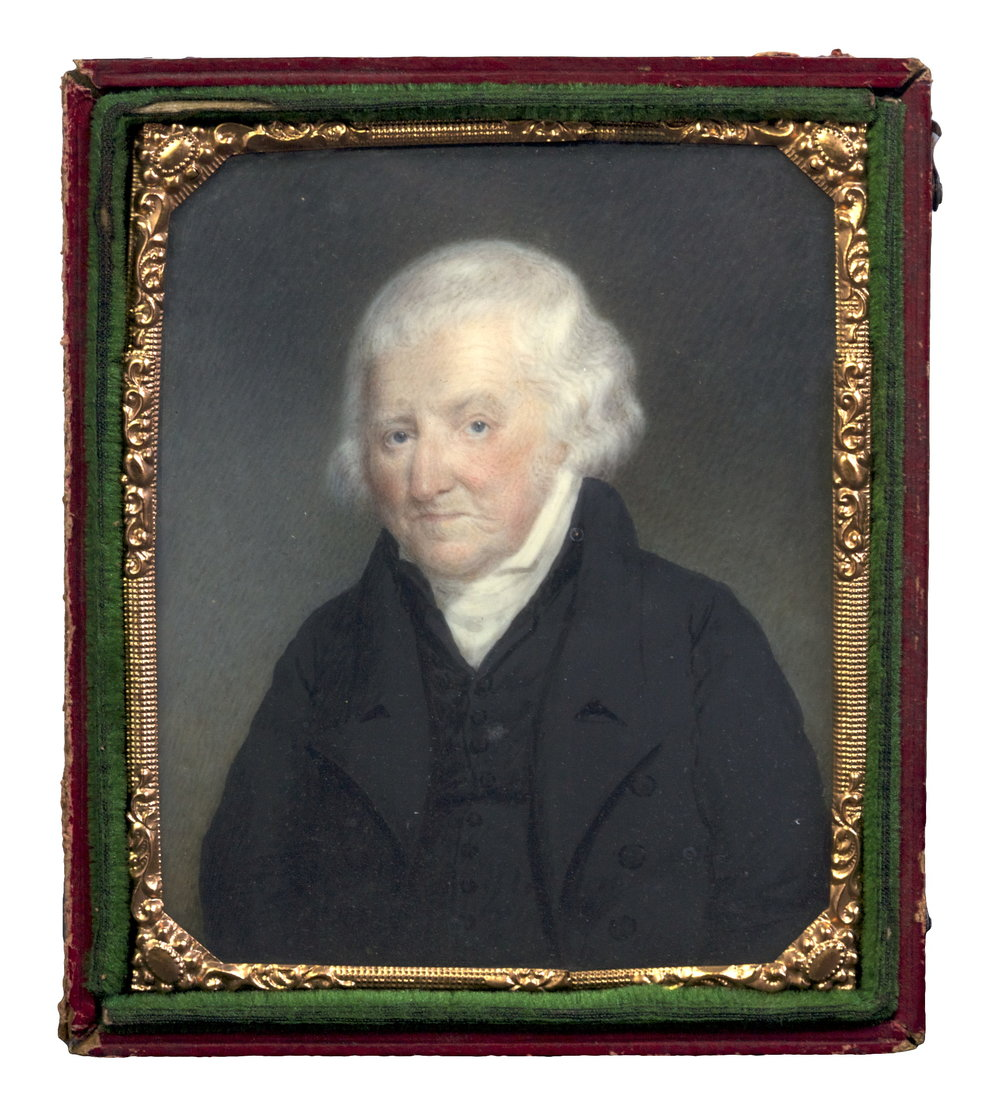 Portait Miniature of Samuel Norton, by Sarah Goodridge, Boston, MA, 1826
