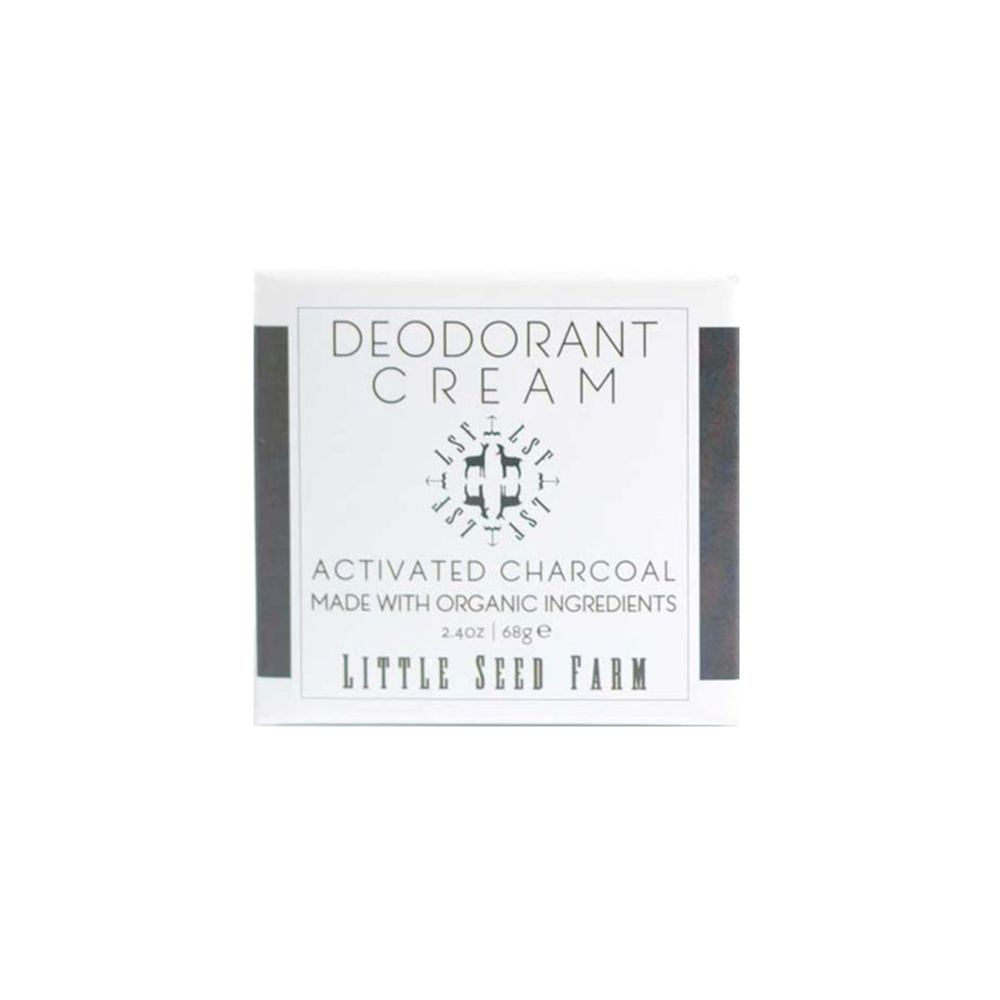Little Seed Farm Activated Charcoal Deodorant Cream