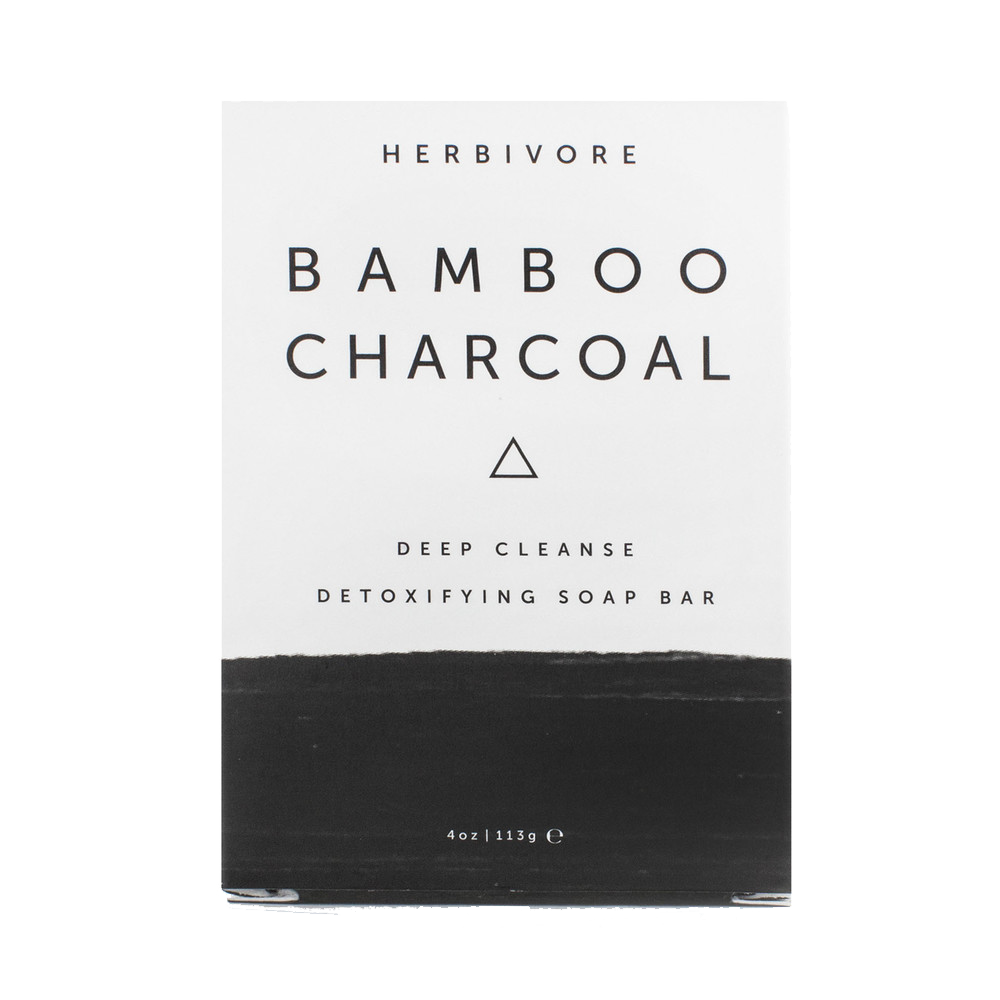 Herbivore Bamboo Charcoal Detoxifying Soap Bar