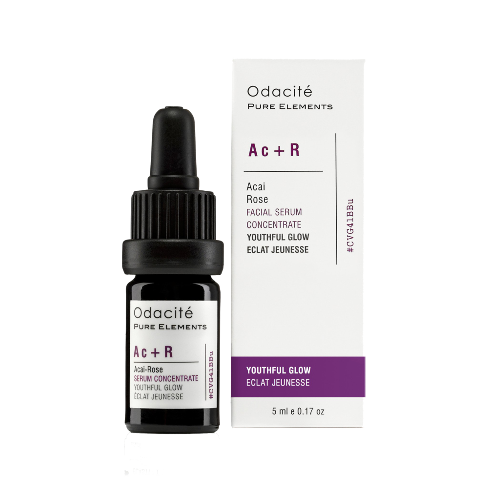 Odacité Ac + R Youthful Glow Acai Rose Serum Concentrate