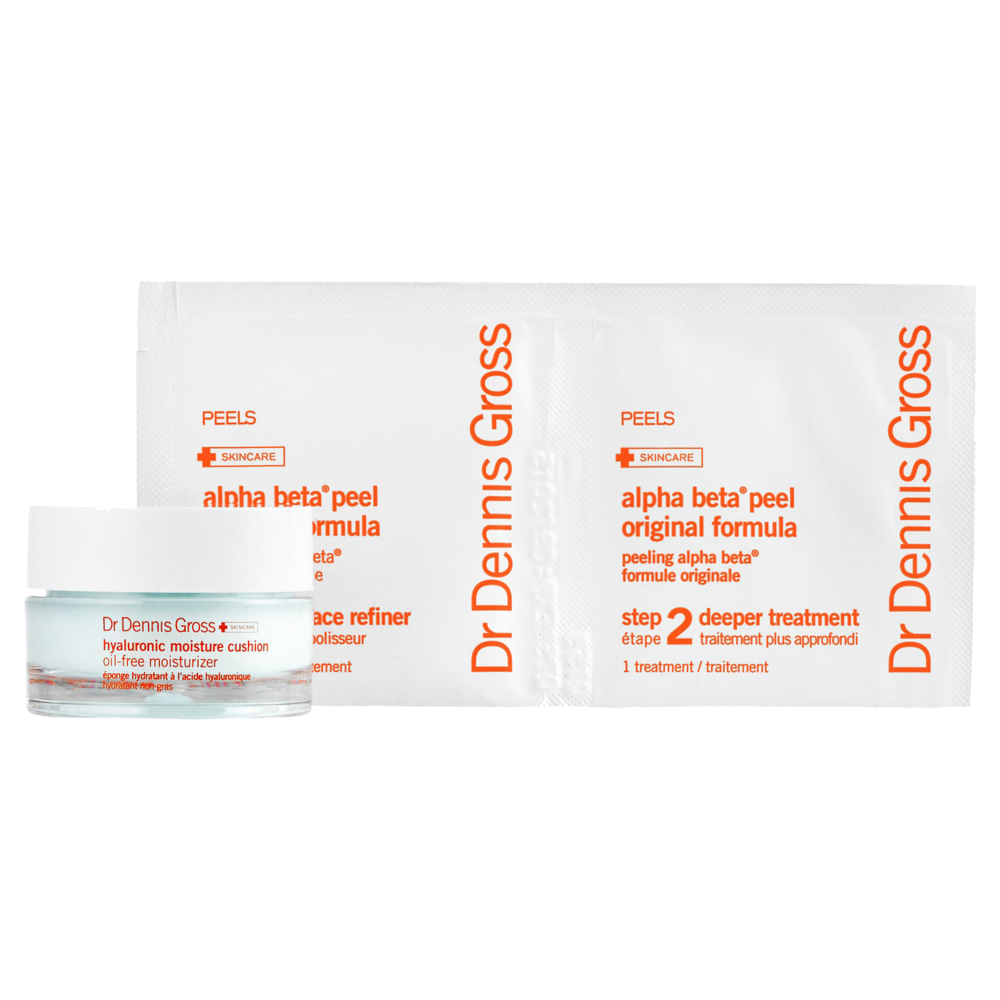 Dr. Dennis Gross Skincare Smooth & Flawless: Peel + Moisturize