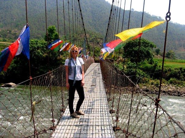 Hart in Bhutan.