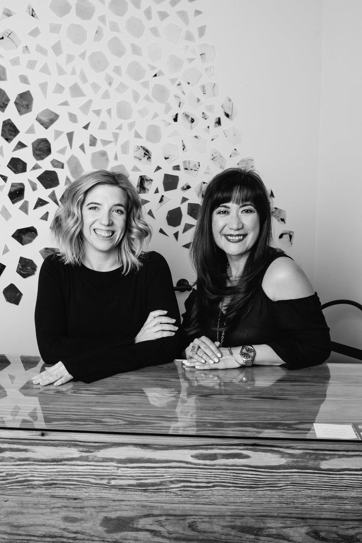 Karen Kops & Sherri Coates at their clean beauty collective Poppy & Monroe. Ashtin Paige