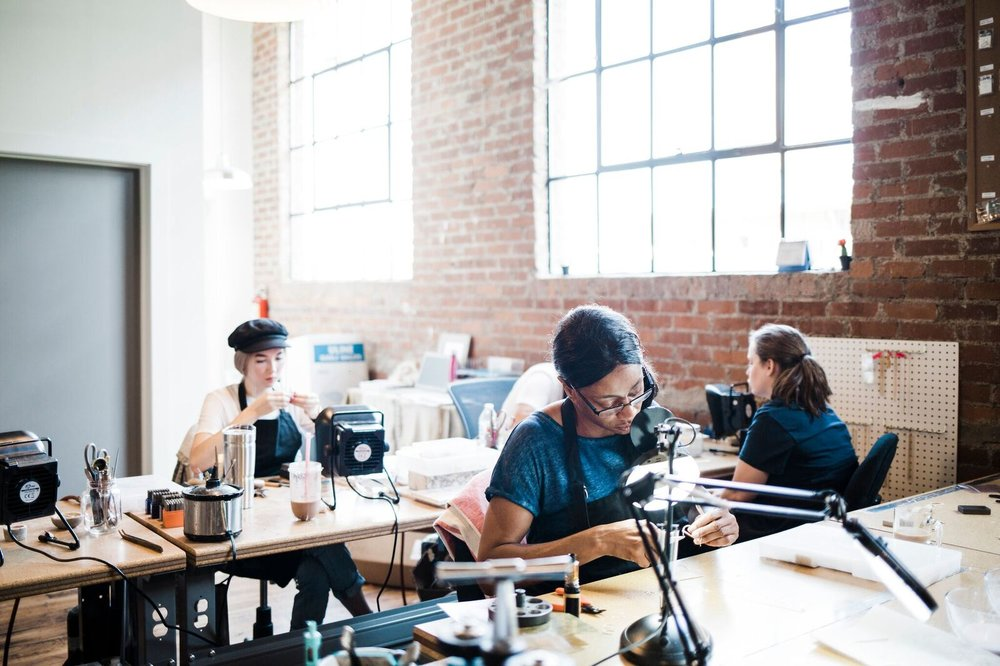 ABLE's Nashville Jewelry Studio.  Image Credit: ABLE