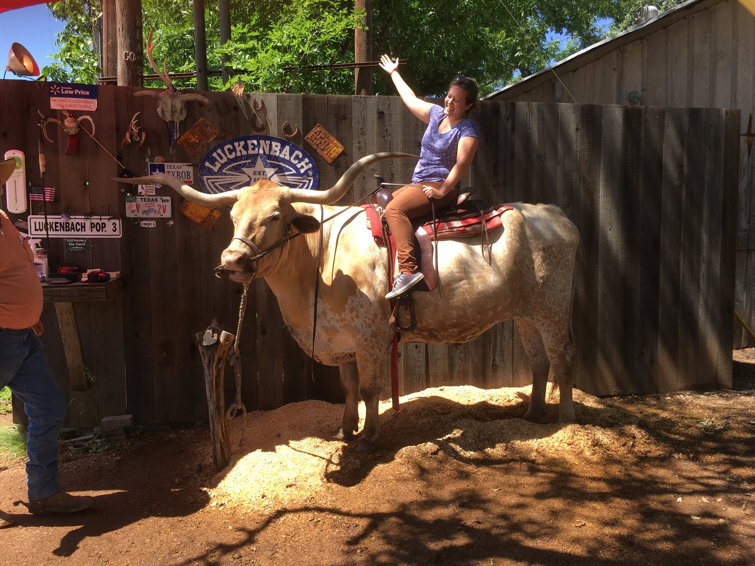 Luckenbach Cowgirl