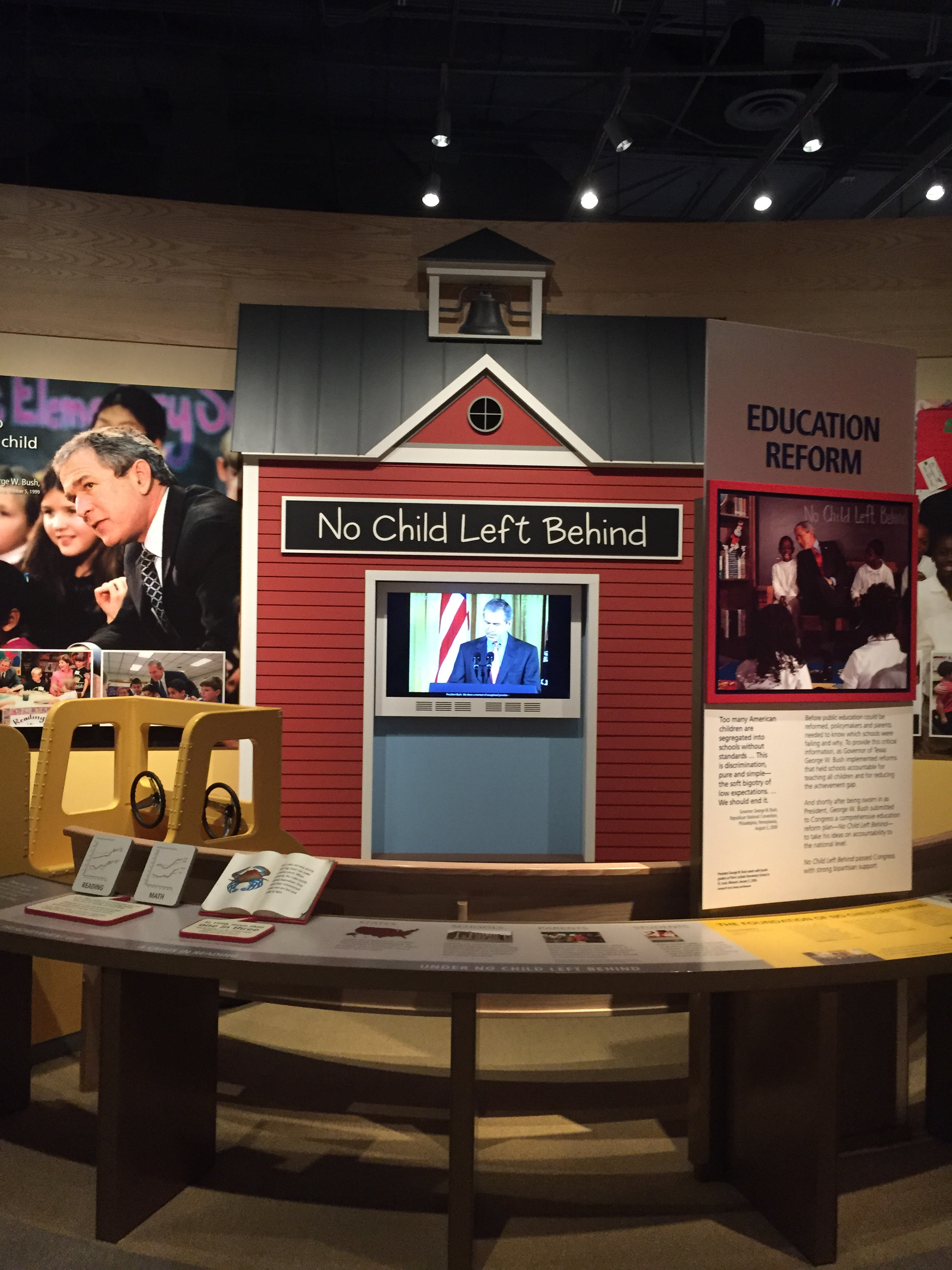 There's This Thing Called the George W  Bush Museum and Libary