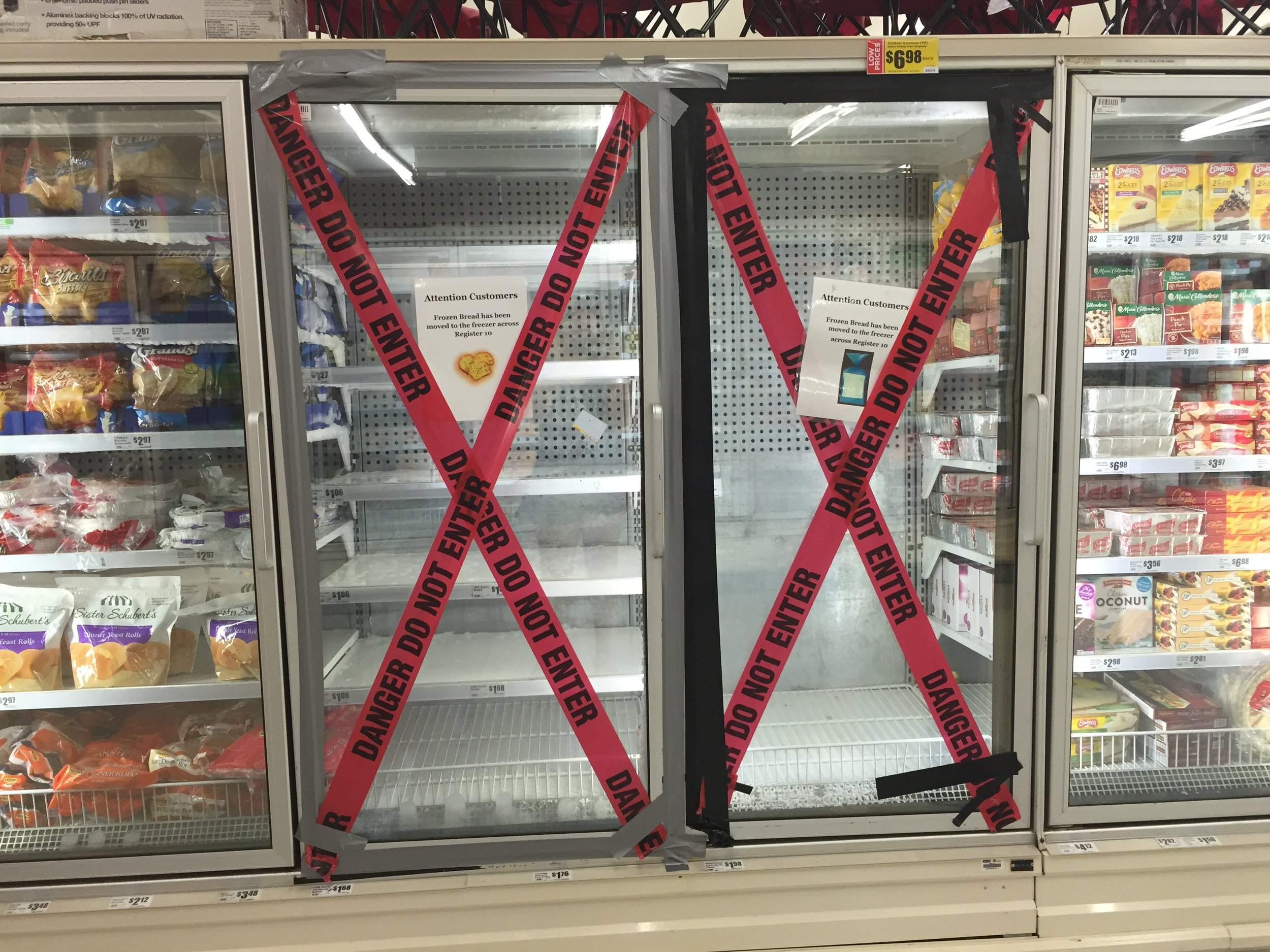 Frozen Bread Emergency