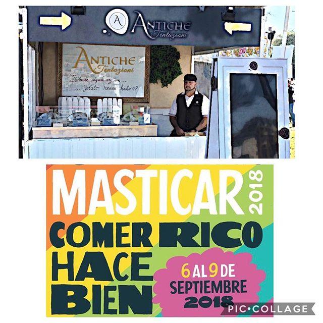 ANTICHE TENTAZIONI llegó a Masticar.... Te esperamos para degustar un Gelato recién hecho! 😋  Del 6 al 9 de Septiembre.... #antiche #AnticheTentazioni #gelato #gelateria #GelatoItaliano #icecreamshop #heladeria #Helados #anticheonline #palermosoho #argentina #helado🍦 #heladositalianos #elmejorhelado #gelatodautore #helados #heladosartesanales #lamejorheladeria #helado #LAutenticoGelatoItaliano #HeladosSaludables #alimentossaludables #singluten #glutenfree #celiacos #sintaac #gelateriaantichetentazioni #feriamasticar #masticar2018