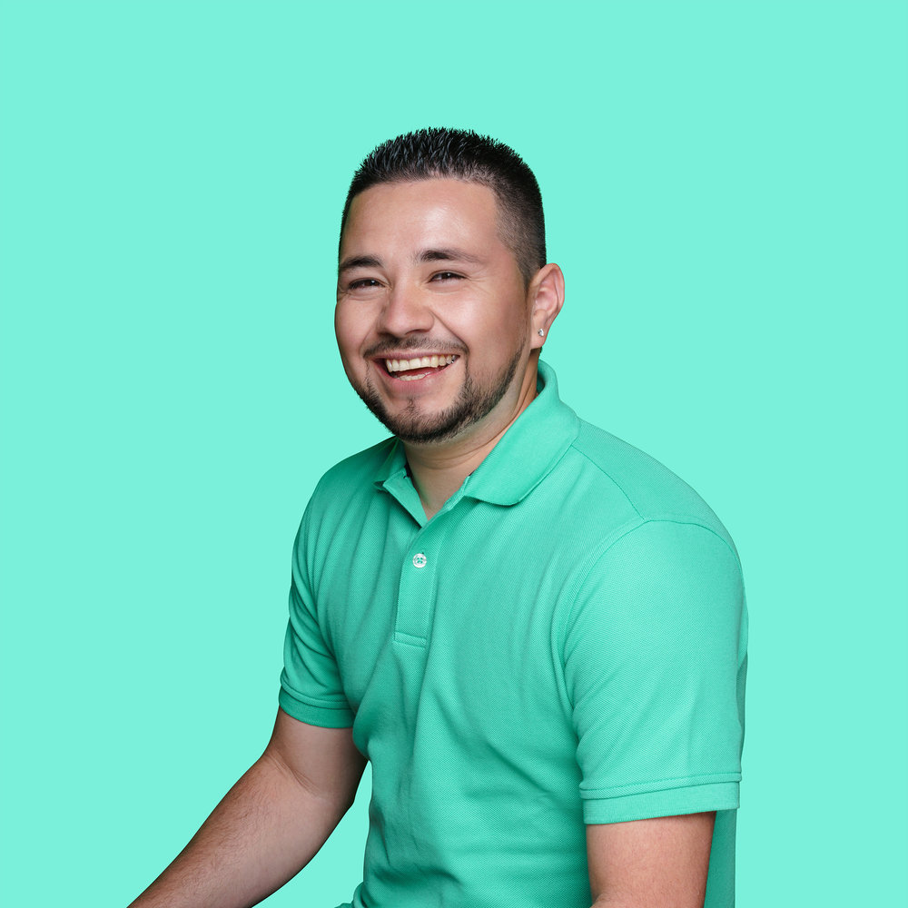 ELIAS LOPEZ, Operations Manager   Elias loves his job because nothing feels more rewarding for him than helping and bonding with seniors. He's happiest spending time with his family and on the weekend you'll find him snuggling with his two, young daughters. His dream is to travel to Paris someday.