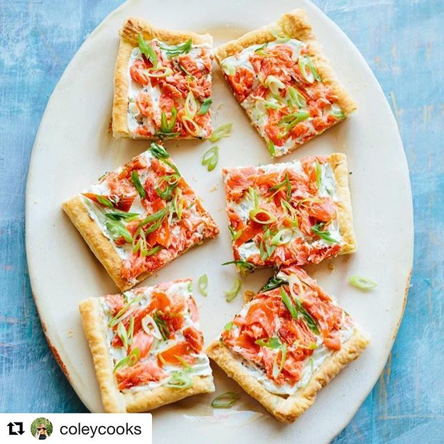 #Repost @coleycooks ・・・ Bringing all the cozy Sunday brunch vibes today with this Easy Smoked Salmon Puff Pastry Tart! ✨ It makes a killer appetizer in addition to being my current brunch obsession. 🤤 The crust is light and crispy, the filling is creamy and tangy, but the true star of this recipe is the @wildforsalmon traditional smoked salmon on top! 🐟 This wild Alaskan sockeye salmon is rated best choice by @seafoodwatch, and you can have it shipped directly to your door via @wildforsalmon's website. . . Recipe: coleycooks.com/smoked-salmon-tart . . #foodVSCO #feedfeed #f52grams #foodandwine #thekitchn #huffposttaste #todayfood #imsomartha  #lovefood #delicious #instafood #hautecuisines #gloobyfood #beautifulcuisines #wildsalmon #sockeye #sockeyesalmon #seafoodwatch #smokedsalmon #wildforsalmon