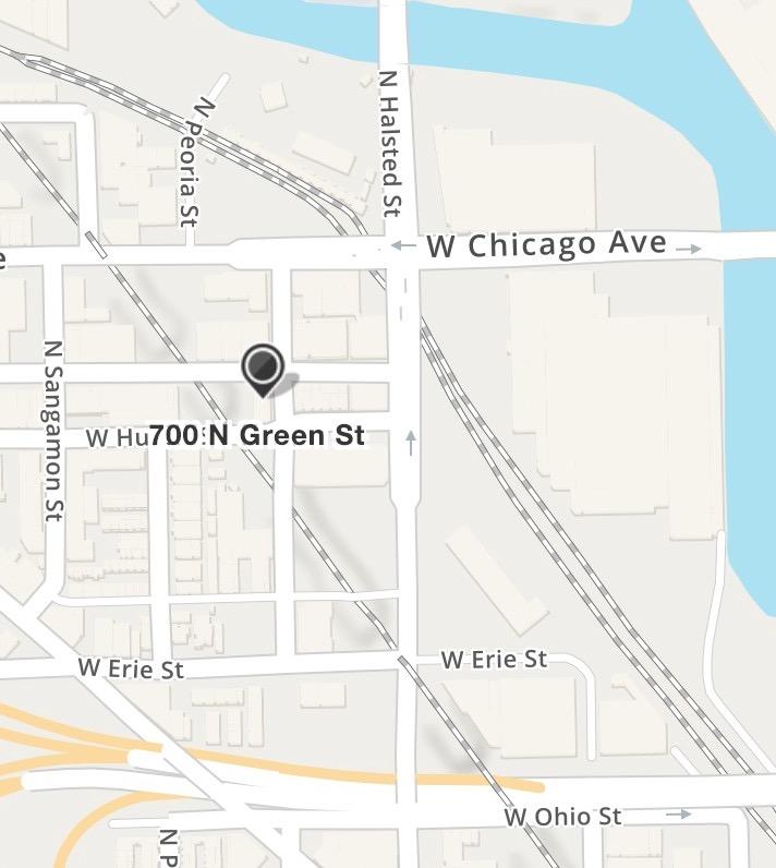 Green Street    700 N. Green Street, #303 Chicago, Illinois 60642 CTA : Blue Line